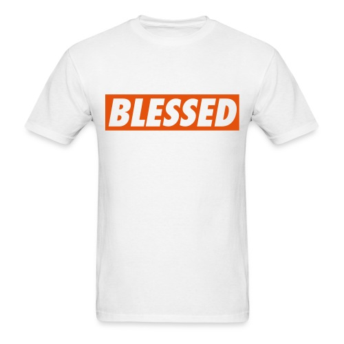 Blessed White Tee - Men's T-Shirt