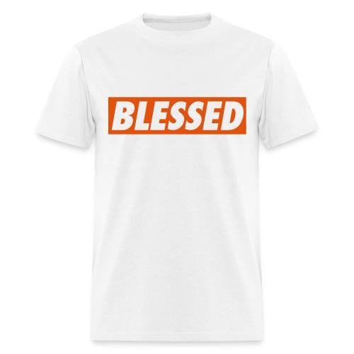 Blessed White Tee - Men's T-Shirt