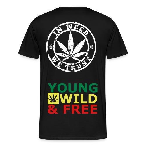 LEAH KUSH PROMO SHITS - Men's Premium T-Shirt