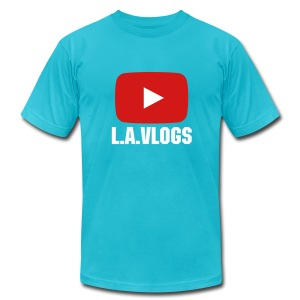 L.A.Vlogs Mens T-Shirt - Men's Fine Jersey T-Shirt