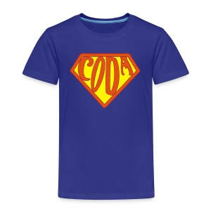 Toddler SuperCoda - Toddler Premium T-Shirt