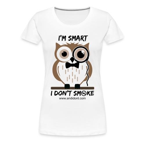 Smart Owl - Women's Premium T-Shirt