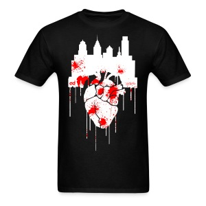 Heart Of Philly - Men's T-Shirt