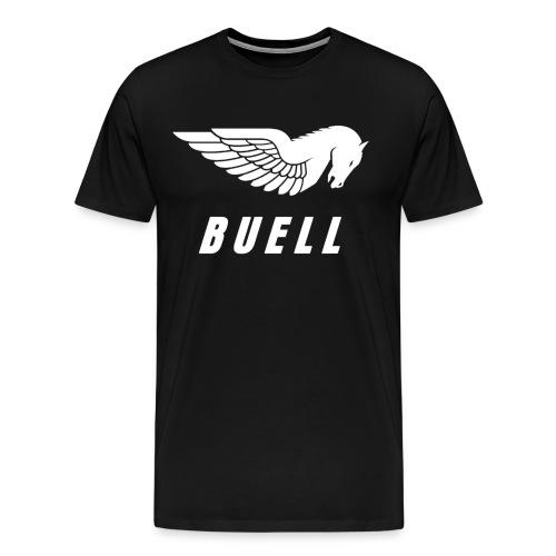 Buell Logo Buell Motorcycle Sport Racing T-shirt Buell - Men's Premium T-Shirt