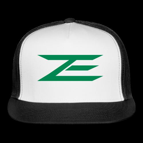 Zach Trucker Hat (Throwback Green) - Trucker Cap