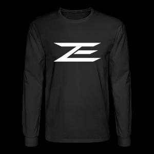 Zach Logo Shirt - Men's Long Sleeve T-Shirt