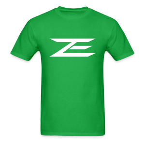 Zach Logo Shirt (Throwback Green) - Men's T-Shirt