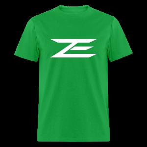 Zach Logo Shirt (Throwback Green) - Men's T-Shirt