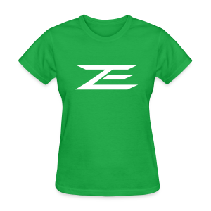 Zach Logo Shirt (Throwback Green) - Women's T-Shirt