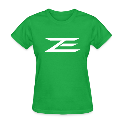 Zach Logo Shirt (Throwback Green) - Women's T-Shirt