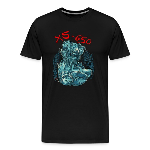Yamaha XS650 Engine Yamaha XS650 Lover T-shirt XS650 - Men's Premium T-Shirt