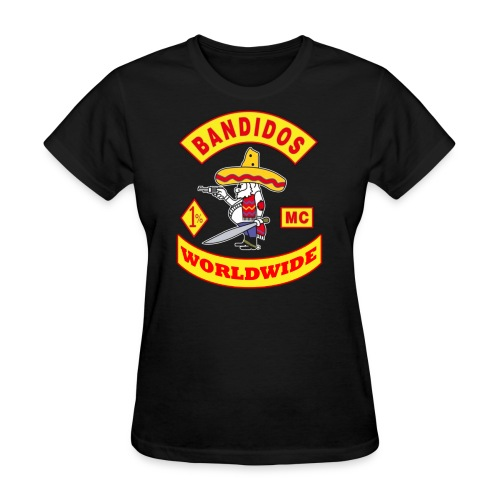 t-shirt bandidos club worldwide bandidos  - Women's T-Shirt