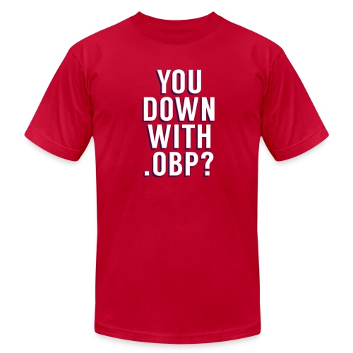 You Down with .OBP? (St. Louis, Washington) - Men's  Jersey T-Shirt