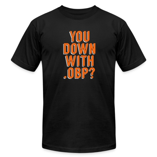You Down with .OBP? (Baltimore) - Men's Fine Jersey T-Shirt