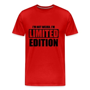 Limited Edition Red Tee - Men's Premium T-Shirt