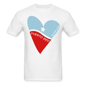 Corazón de Puerto Rico for Men - Men's T-Shirt