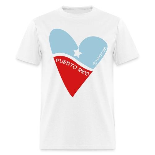 Corazón de Puerto Rico for Men - Men's T-Shirt