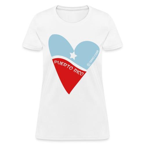 Corazón de Puerto Rico for Women - Women's T-Shirt