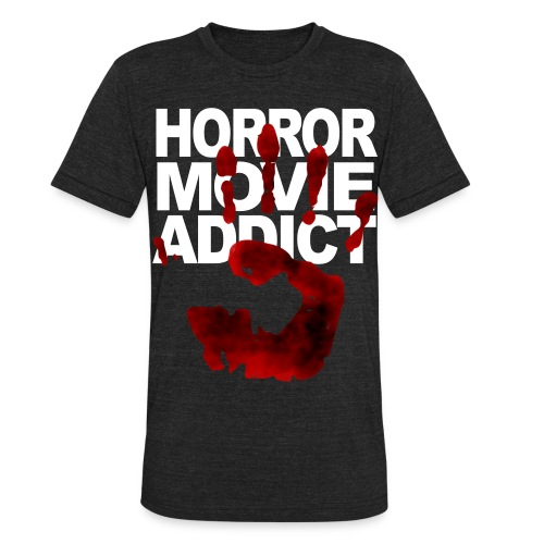 Horror Addict  - Unisex Tri-Blend T-Shirt