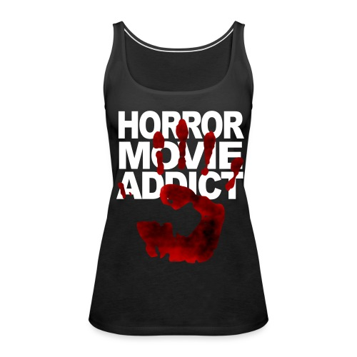 Horror Addict  - Women's Premium Tank Top