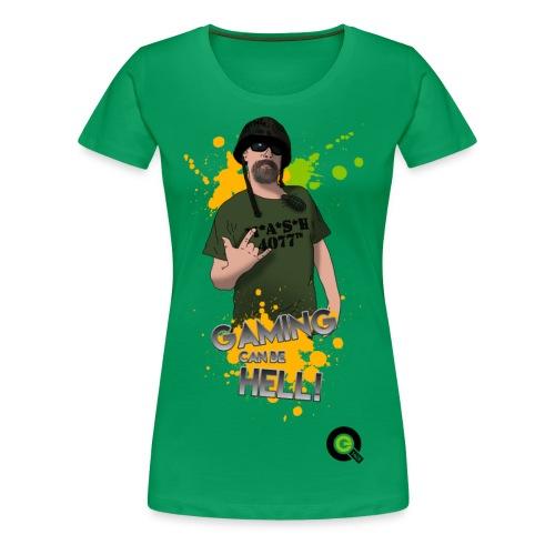 Gaming Splat - Women's Premium T-Shirt