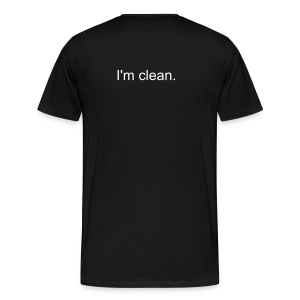 AA is for quitters - Men's Premium T-Shirt