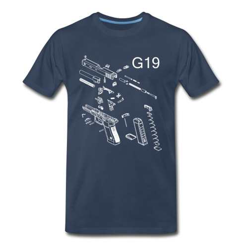 Gunsmith G19 Shirt - Men's Premium T-Shirt