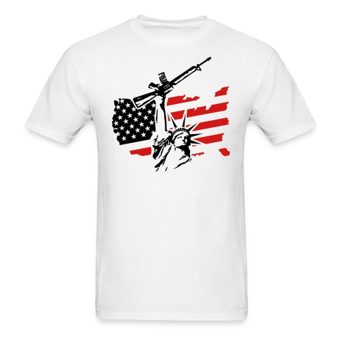 USA Gun Men's Tee - Men's T-Shirt