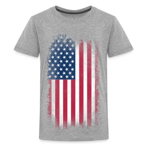 Youth American Flag shirt - Kids' Premium T-Shirt