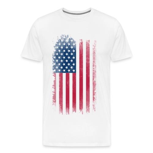 Mens American Flag shirt - Men's Premium T-Shirt