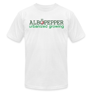 AlboPepper -Urbanized Growing - Men's T-Shirt by American Apparel
