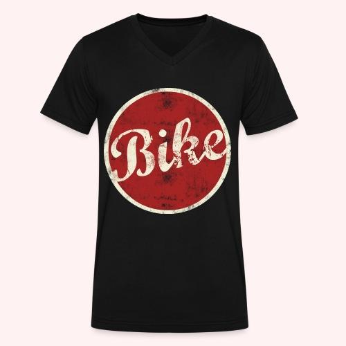 BIKE - Men's V-Neck T-Shirt by Canvas