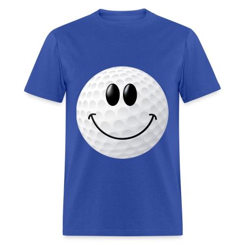 Golf Smiley Face Shirt - Men's T-Shirt