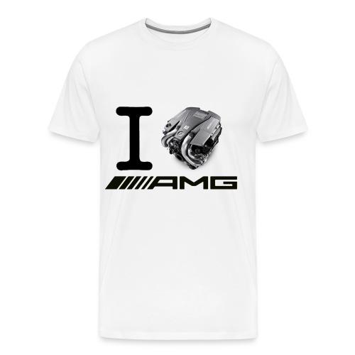 I love AMG Engine - Men's Premium T-Shirt - Men's Premium T-Shirt