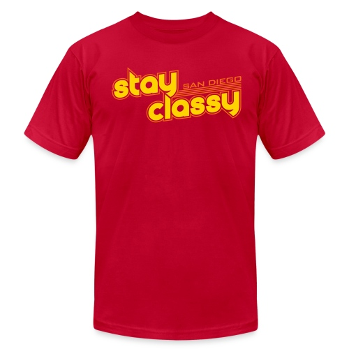 Stay Classy San Diego - Men's  Jersey T-Shirt