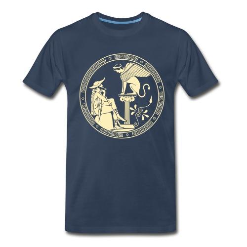 Greek Geek - Men's Premium T-Shirt