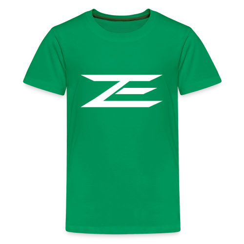 Zach Logo Shirt (Throwback Green) - Kids' Premium T-Shirt