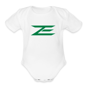 Zach Logo One Piece - Short Sleeve Baby Bodysuit