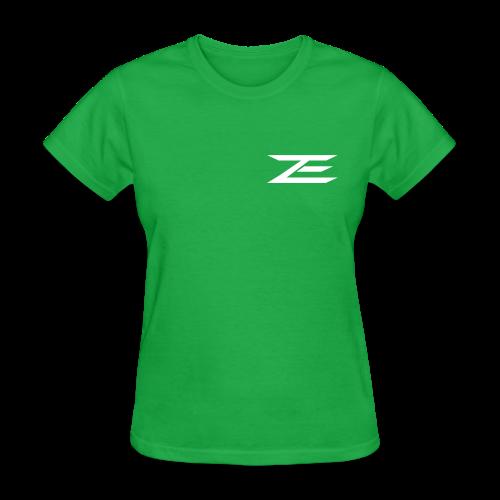 Zach #86 Jersey Shirt (Throwback Green) - Women's T-Shirt