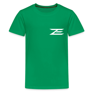 Zach #86 Jersey Shirt (Throwback Green) - Kids' Premium T-Shirt