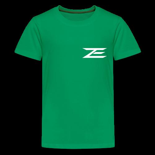Zach #86 Jersey Shirt (Throwback Green) - Kids' Premium T-Shirt