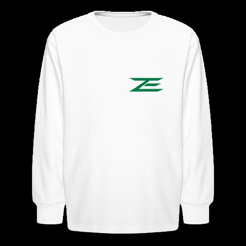 Zach #86 Jersey Shirt - Kids' Long Sleeve T-Shirt