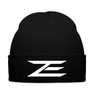 Zach Logo Beanie - Knit Cap with Cuff Print