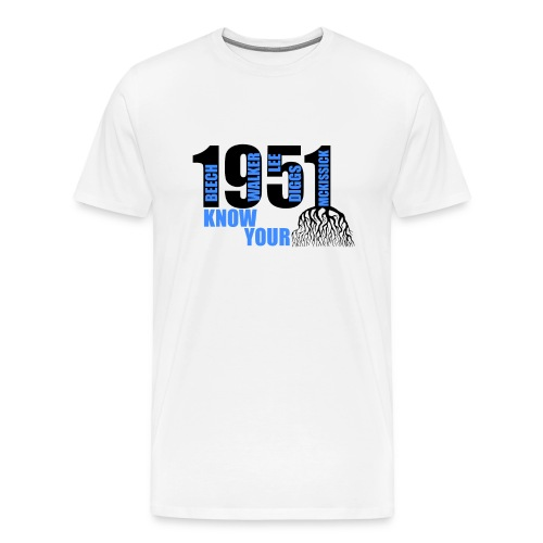 First - Unsung Heroes  - Men's Premium T-Shirt