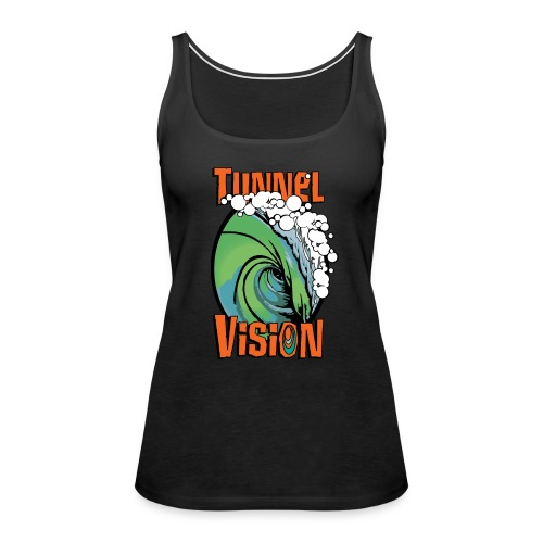Men's Tunnel Vision Tee- New Logo - Women's Premium Tank Top