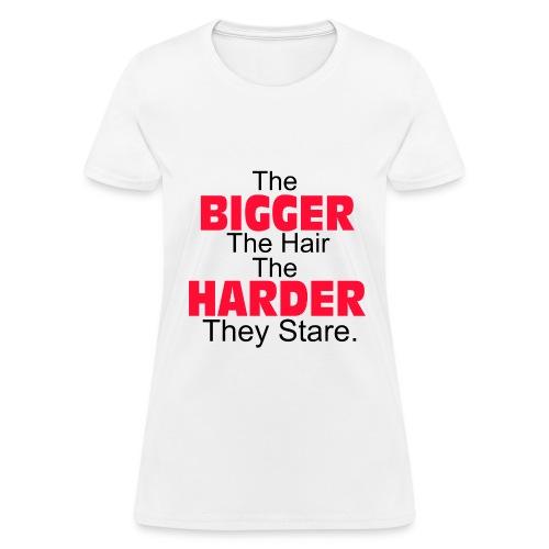 Stare harder - Women's T-Shirt