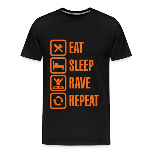 NO TIME FOR REST TEE - Men's Premium T-Shirt