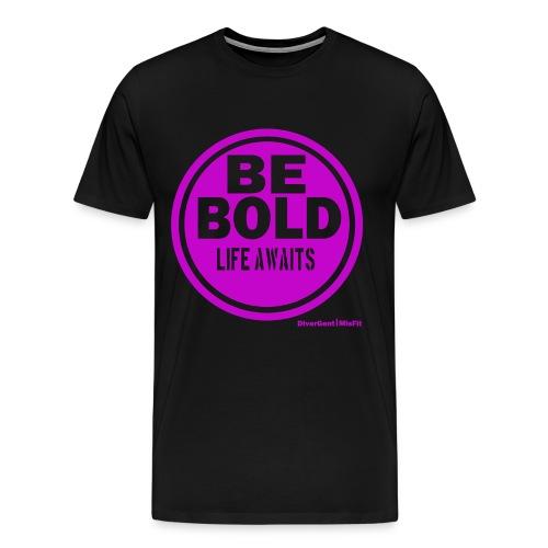 Be BOLD in Purple - Men's Premium T-Shirt