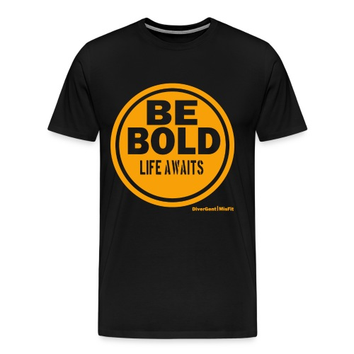 Be BOLD in Orange - Men's Premium T-Shirt