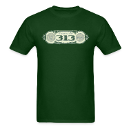 T-Shirts ~ Men's T-Shirt ~ In Detroit We Trust